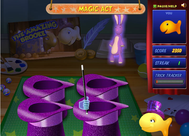 Goldfish Kids Talent Show: Magic Act Mini-Game